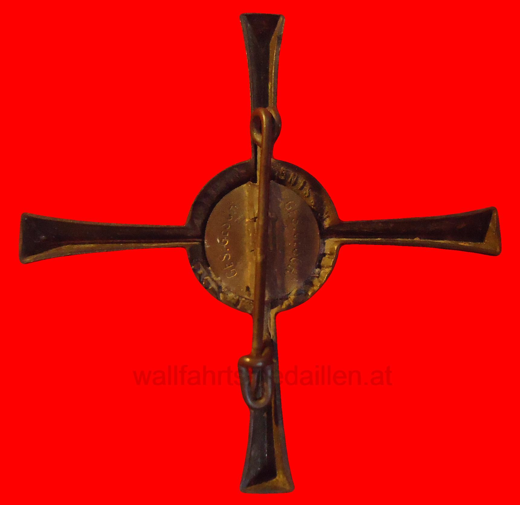 Offizielles Wallfahrtsabzeichen Trier 1933