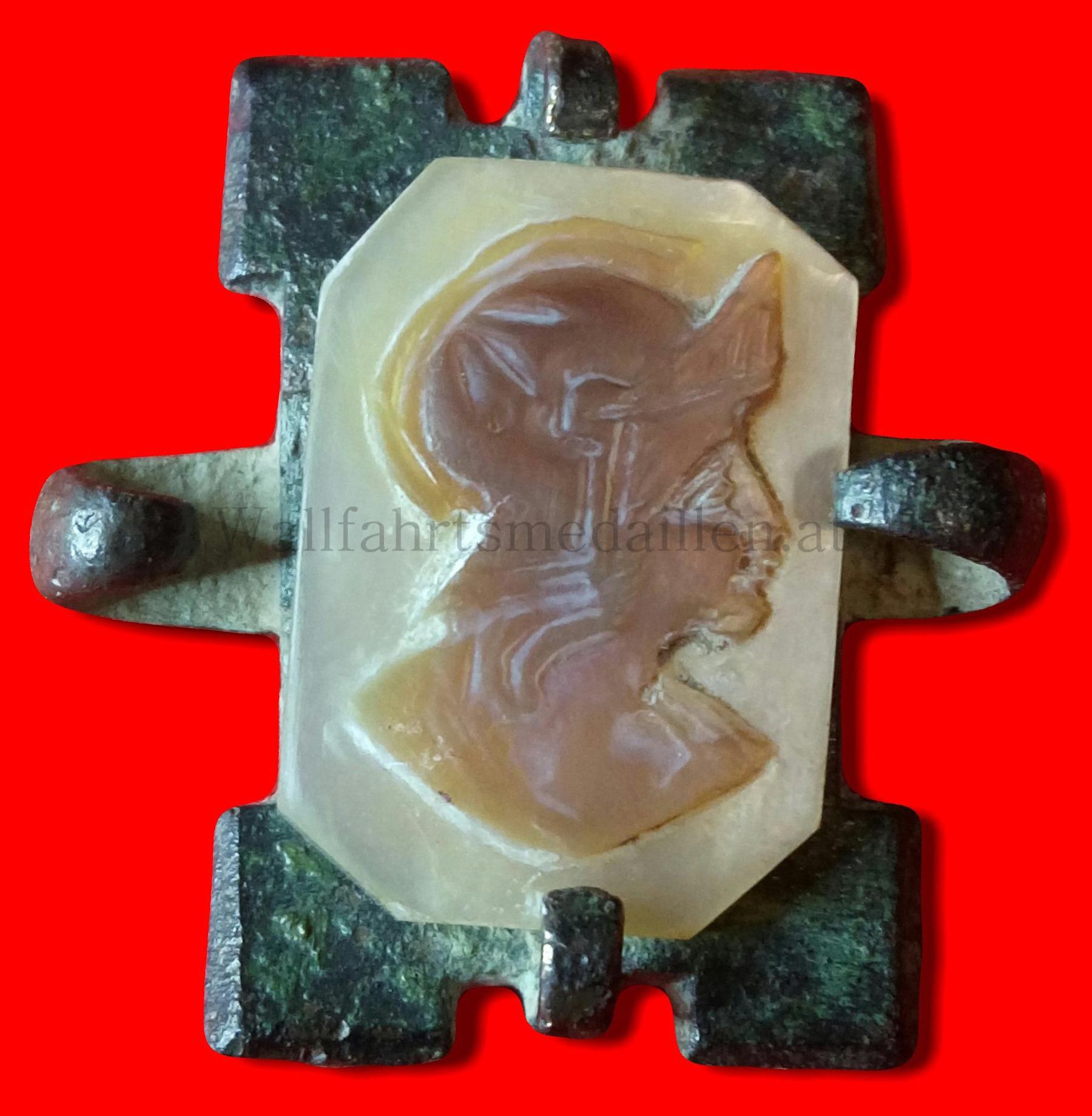 Brosche bzw. Anstecker des heiligen Florian von Lorch