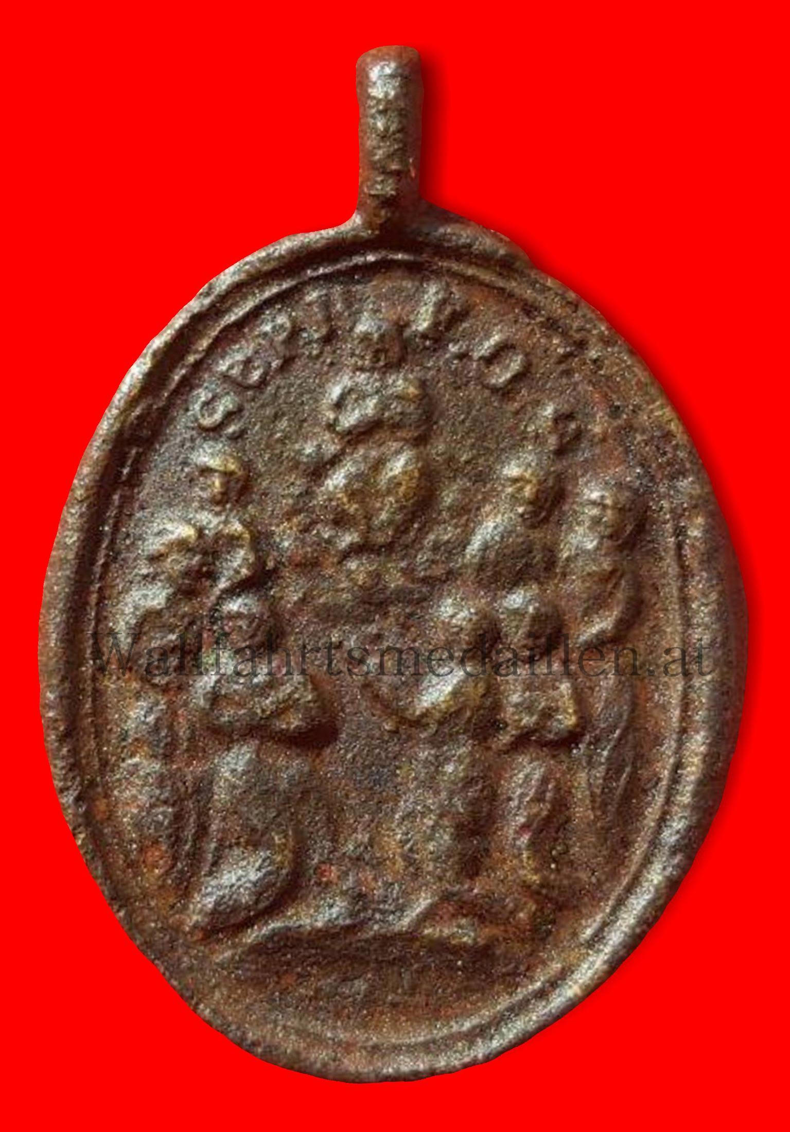 Die sieben heiligen Gründer des Servitenordens