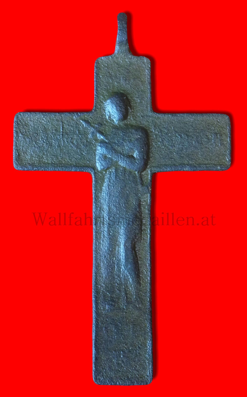Bronzekreuz aus dem Barock, frühes XVIII