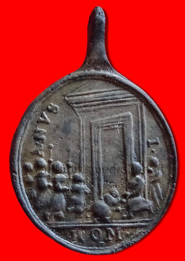 Die Öffnung der Heiligen Pforte zum Jubeljahr 1750