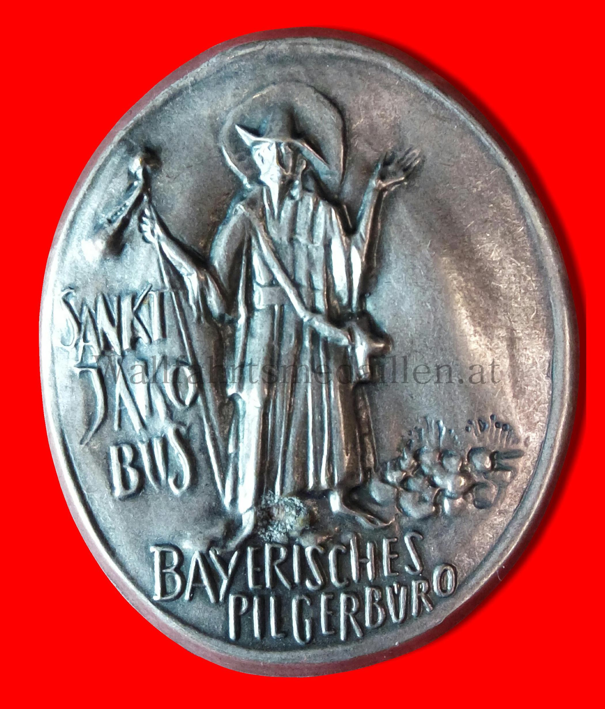 Abzeichen des Bayrischen Pilgerbüros