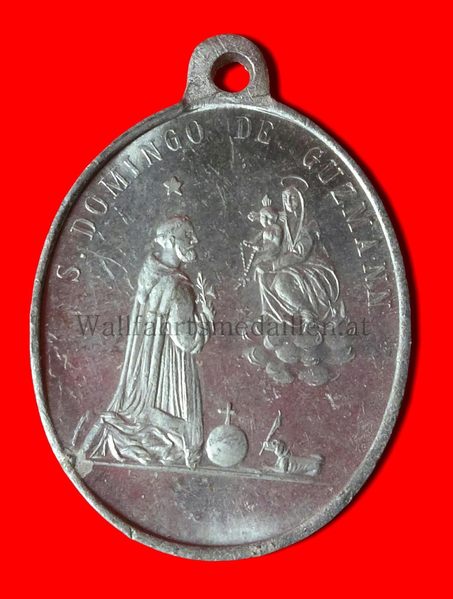 Die Rosenkranzspende an den heiligen Dominikus