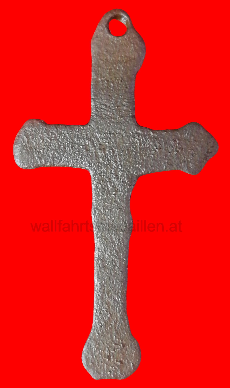 Kleeblatt / Dreipasskreuz aus Bronze